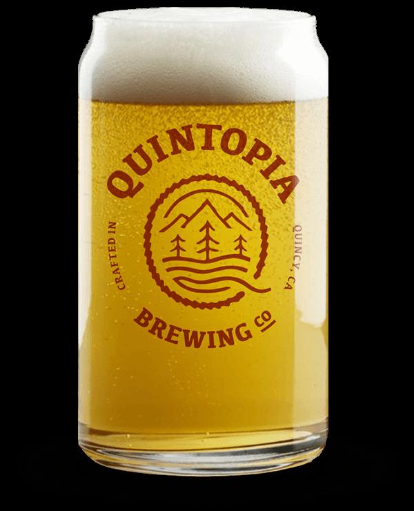 Quintopia BeerCan Glass